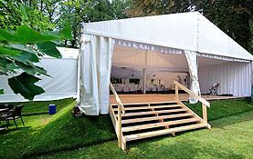 Hale i namioty na imprezy są oferowane na wynajem oraz w ramach kompleksowej organizacji imprez.